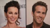 【吉米肥伦今夜秀】凯特·贝金赛尔:我跟瑞安·雷诺兹简直一模一样 吉米你居然模仿我的发型?