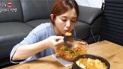 爽快吃播 | Hamzy | 20191112 | 辣血蚶拌饭加豆腐汤