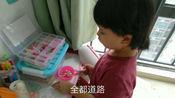 儿童手工DIY串珠子 宝宝益智力女孩穿珠穿线玩具弱视训练3-5-6岁