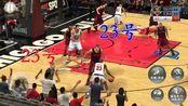 NBA2k18:一个23号包揽所有得分,另一个23号却得0分,怎么回事?