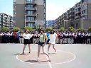 四中高二八班篮球宝贝视频第四场1