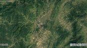 地图里看区域发展,福建省长汀县城市建设进程