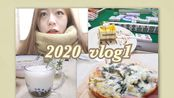 *歪歪* 2020 vlog#1 禁足前+禁足后的过期日常 | 从圣诞节开始的幸福日子们 | 做披萨 珍珠奶茶 | 跟盆友们的爆笑聚会 | 流产的旅行