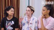 Kristen Stewart &Naomi Scott&Ella Balinska上《Glmour》访谈宣传《霹雳娇娃》谈女性性别歧视等话题【自译】