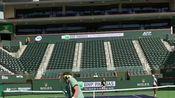 费德勒 伊斯托明 训练视频 Roger Federer with Denis Istomin Training - Indian Wells 2017