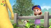 小熊维尼:跳跳虎和小熊维尼究竟怎么了,小女孩如此的慌张
