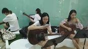 江西九江市【佳妮琴行】吉他钢琴培训-民谣弹唱-古典指弹-综合而丰富全面的教学方法(招生年龄7~65岁)吉他批发,吉他钢琴维修。盛老师-部队俱乐部退伍文艺海军。