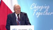 【口译】世界自然纪录片之父大卫·艾登堡爵士在COP24的发言 | Sir David Attenborough at COP24