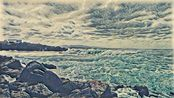 The Wave - Deep Learning Image Style Transfer