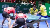 Xu Xin_Liang Jingkun vs Koki Niwa_Maharu Yoshimura - ZEN-NOH 2019 Team World Cup