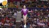 体操世锦赛平衡木决赛,刘婷婷14.533分夺金,中国小姑娘喜极而泣!