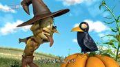 稻草人被乌鸦逼疯了,搞笑动画短片!
