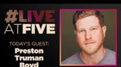 Broadway.com #LiveatFive with Preston Truman Boyd of the LES MISERABLES Tour