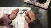 民间书法、蛋刻、篆刻艺人 杜伦顺书法 吊打所谓书法家