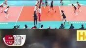 回顾:中国女排vs俄罗斯:虎将发威!张常宁连续扣球吹响反击号角