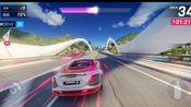 狂野飙车9自动女神节竞速赛事奔驰迈凯轮 SLR McLAREN金卡寻车暴乱加勒比环岛之旅满星1.43.757