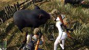 荒野彩蛋:某知名up发现荒野里的猪竟然可以喂食和捕获,还吃5.56的子弹