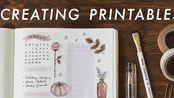 【Jordan Clark】教你如何设计+制作一页贴纸