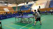 【教职工乒乓球比赛】乒乓球省队退役运动员大战学校经验丰富的老师