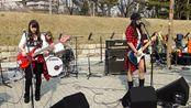 这只日本女子乐队主唱很不错,让人想到韩国的女子乐队Bebop