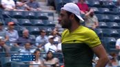 贝雷蒂尼vs孟菲尔斯 Matteo Berrettini vs Gael MonfilsExtended Highlights