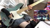 【bass】丸山彩的迪斯科舞厅 DISCOTHEQUE 贝斯cover