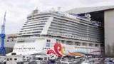 迈耶·维尔夫特造船厂,一艘大型汽艇欢乐号游船从挪威中浮起!