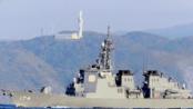 """【海上自卫队】金刚级导弹驱逐舰""""雾岛""""号(DDG-174)浦贺水道航行(2019/12/25)"""
