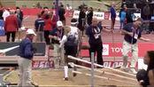 唐纳德·斯科特跳出17米24,刷新室内赛个人最佳