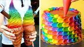 如何制作蛋糕装饰创意|美味彩虹蛋糕装饰食谱|美味加分【Tasty Plus】 - 20191216