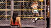 WWE NXT20200305现场拍摄女子铁笼赛Dakota Kaivs Tegan Nox