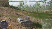 PS4战车世界,7级金币kv-2,继续刷新单发伤害上限,新纪录1002。