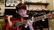【指弹吉他】What A Wonderful World - Fingerstyle Guitar - Louis Armstrong - Andrew Foy