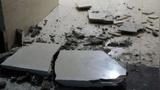 甘肃夏河5.7级地震 震中附近房屋开裂一片狼藉 暂无人员伤亡