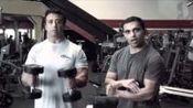 "Ben阿弗莱克训练对于""镇""通过雷汉贾拉利,Bodybuilding.com"