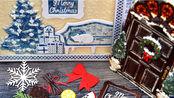 【产品】Paper Discovery 圣诞新品刀模印章介绍成品展示|CHRISTMAS RELEASE Overview + GIVEAWAY
