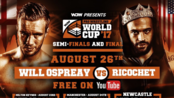 【WCPW】Will Ospreay vs Ricochet WCPW Pro Wrestling World Cup - Tag 3 2017.8.26