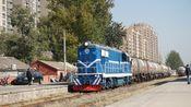 【京门铁路】DF7 0087牵引油罐车在西黄村站进行调车作业